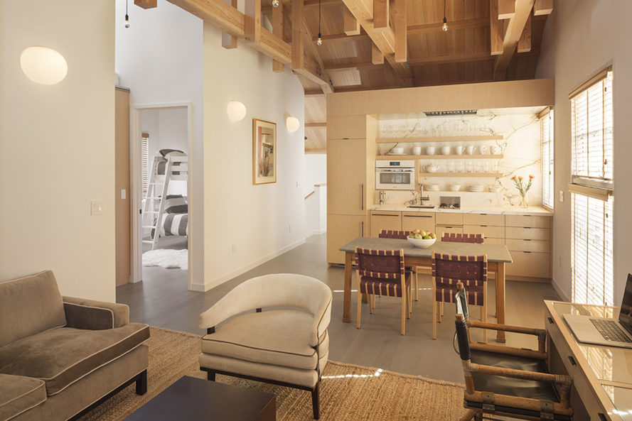 Richardson Architects, California, barn renovation, earthquake-resistant building, earthquake-proof design, green renovation, rustic building, wooden architecture, wooden building