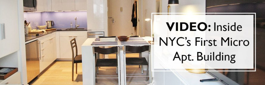 VIDEO See inside NYCs first official micro apartments complete