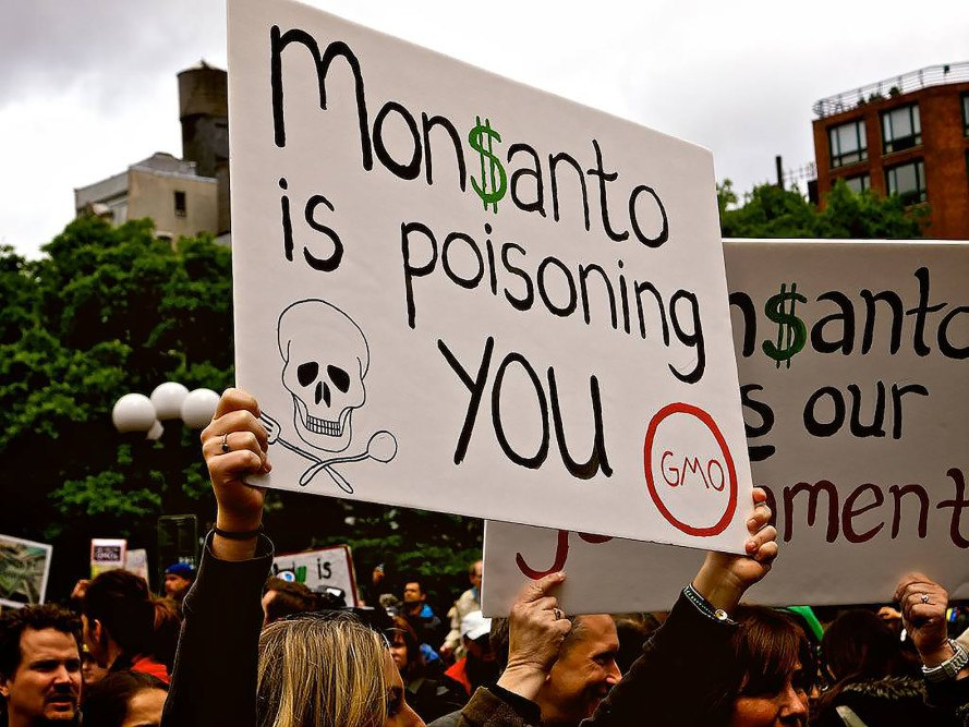 Glyphosate, San Francisco, Reverend Billy and the Stop Shopping Choir, Monsanto, RoundUp