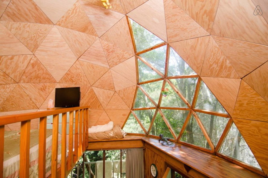 most popular airbnb, most booked airbnb, top airbnb rental, most popular airbnb rental, kitty Mrache, Mushroom Dome Cabin, mushroom dome cabin airbnb, mushroom cabin airbnb, tiny home airbnb, airbnb tiny house rental, airbnb tiny houses, geodesic dome cabin, geodesic cabin,