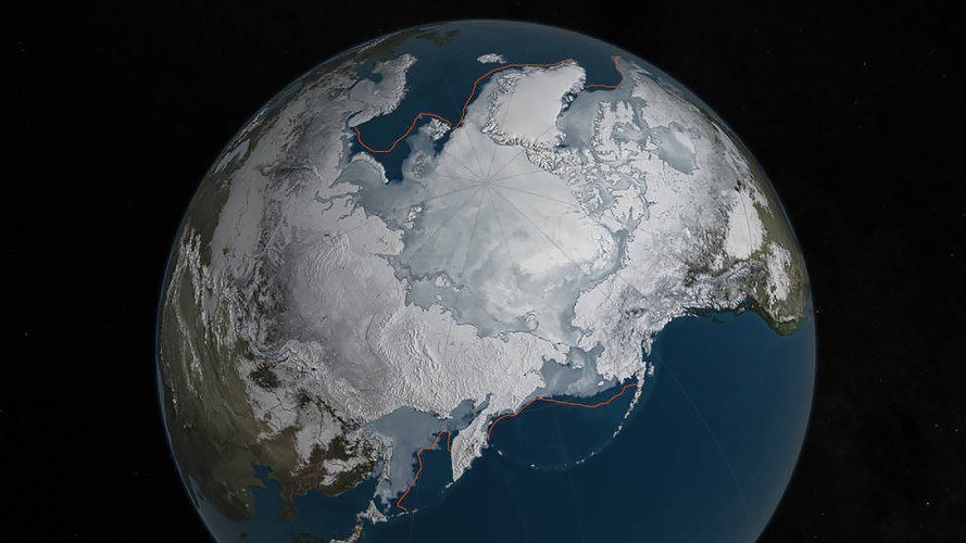 Arctic ice, NASA, National Snow and Ice Data Center, Arctic ice melting, Arctic ice lowest level on record, climate change, global warming, Arctic sea ice