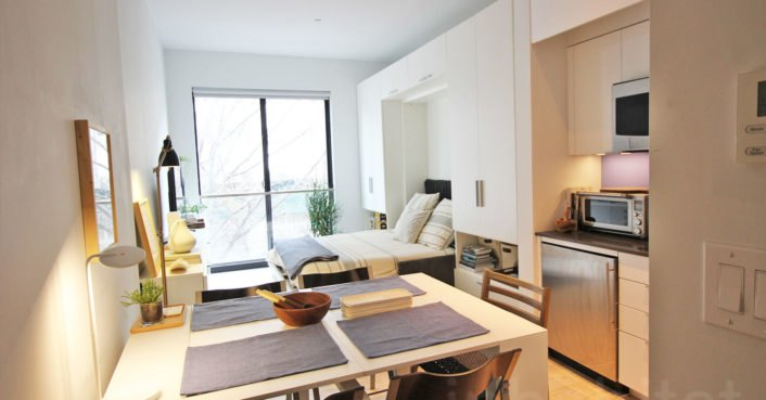 VIDEO: NYC's first micro apartment building is almost ready to open