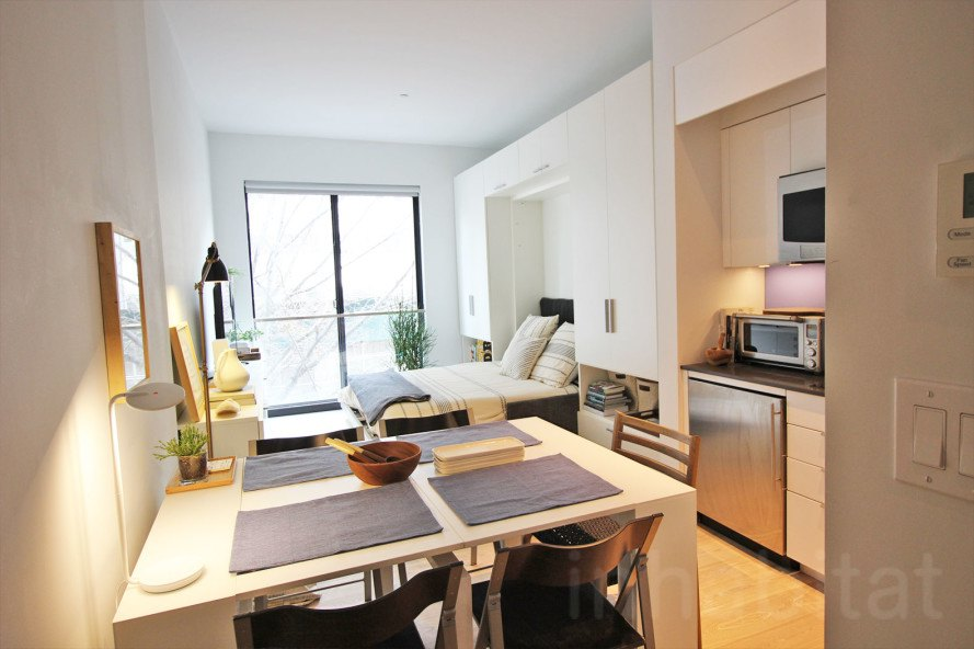 Nyc S First Micro Apartments Are Almost Ready To Open Bed
