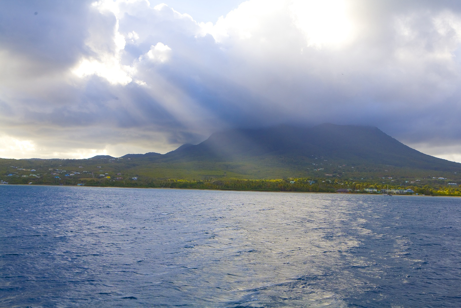 Nevis is on track to become the world's first carbon ...