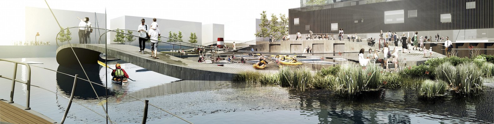 Innovative urban park in Copenhagen floats nature-infused ...