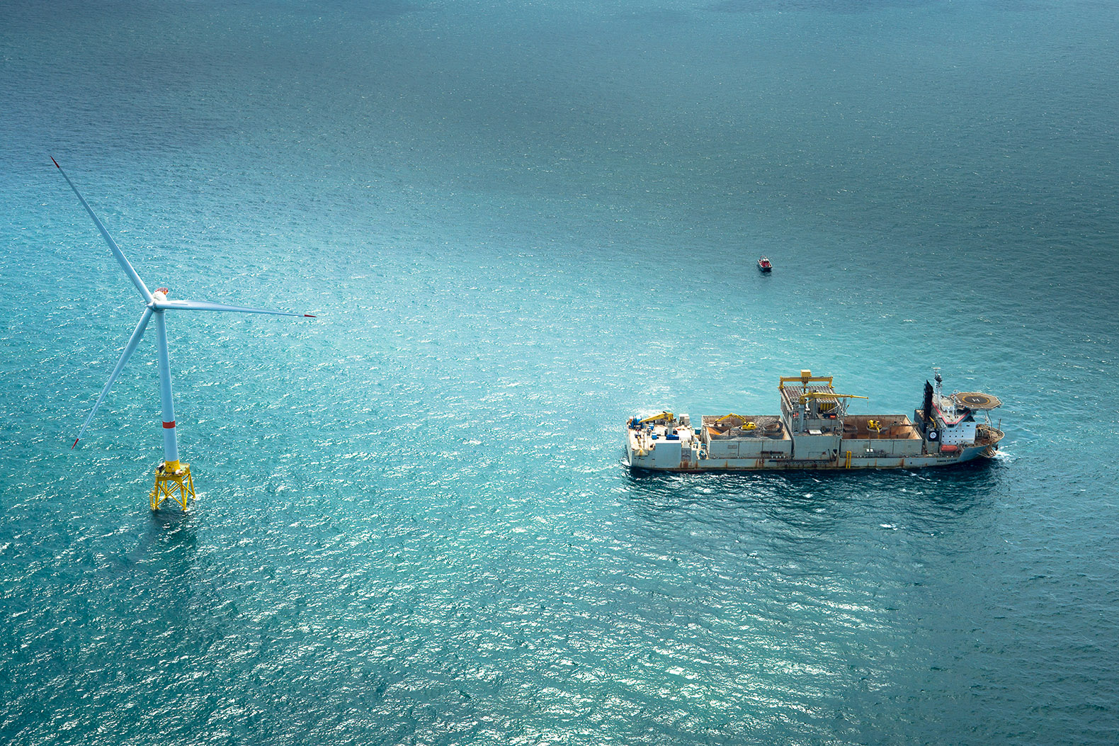 America's first offshore wind farm to be completed by the end of this year