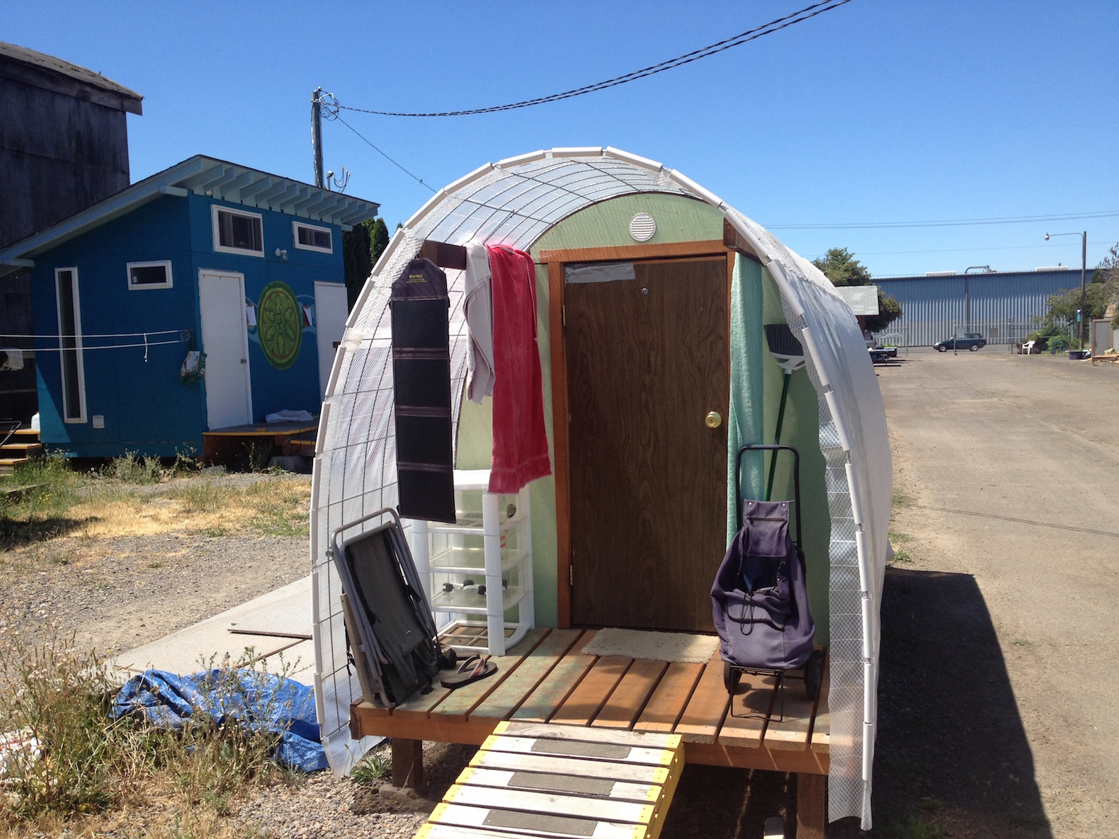 Tiny House Village For The Homeless Goes Solar In Oregon