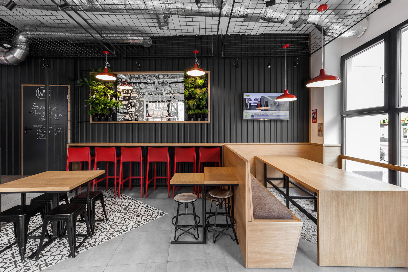 Modelina Designs Shipping Container like Burger Cafe In