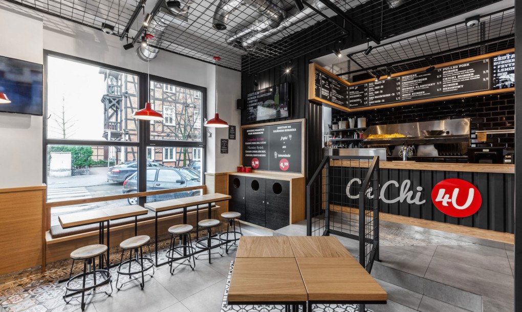 Mode Lina Designs Shipping Container Like Burger Cafe In