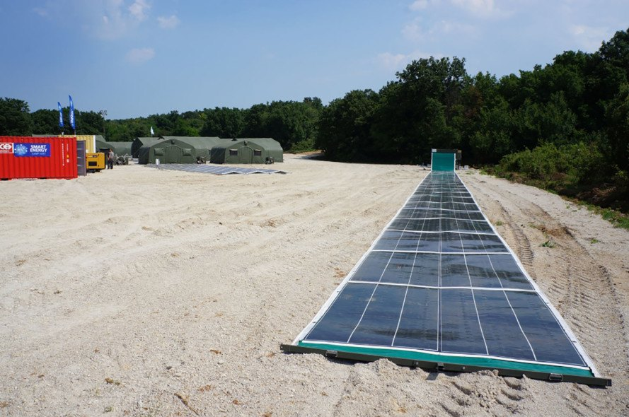 Solar Energy Rolls Out Like A Carpet With Groundbreaking