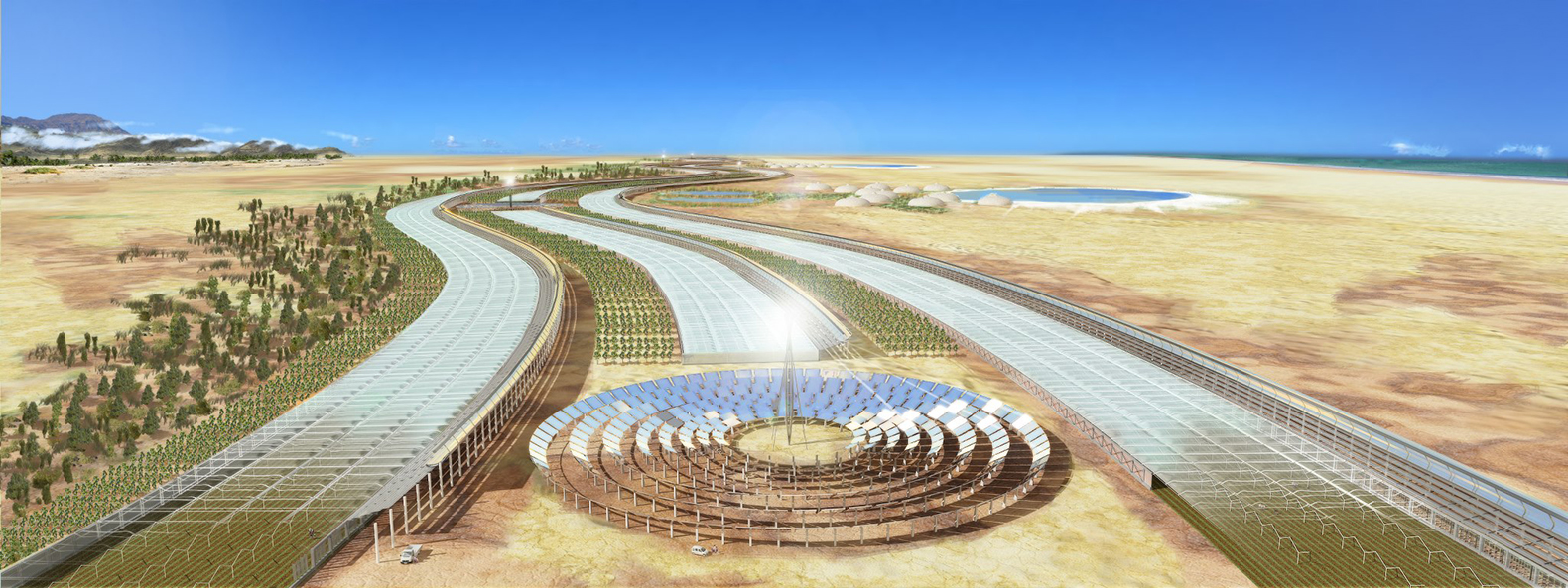 Sahara Desert Project to grow 10 hectares of food in Tunisian desert