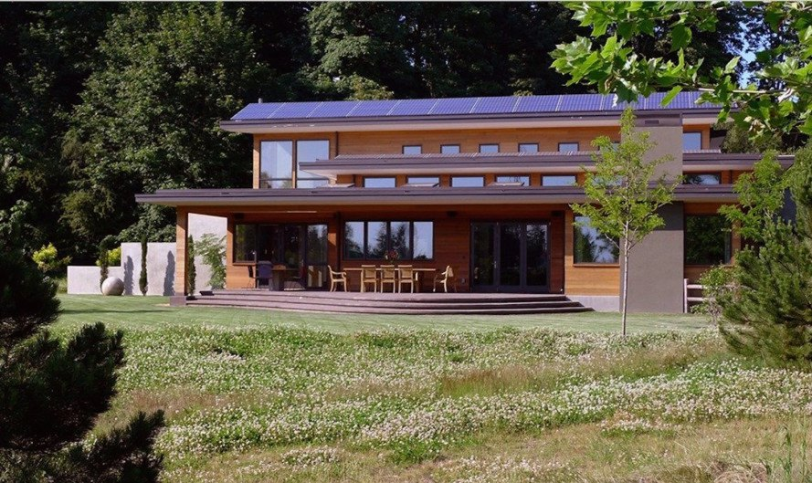Skyline Residence by Nathan Good Architects, LEED Platinum Portland, sustainable portland architecture, LEED Platinum Skyline Residence, LEED Platinum US house