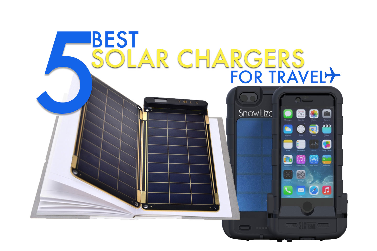 The 5 best solar chargers for every kind of traveler