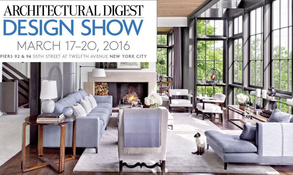 The Architectural Digest Design Show Kicks Off Tomorrow At