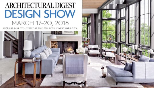 The 2016 architectural digest design show kicks off for Tomorrow s home