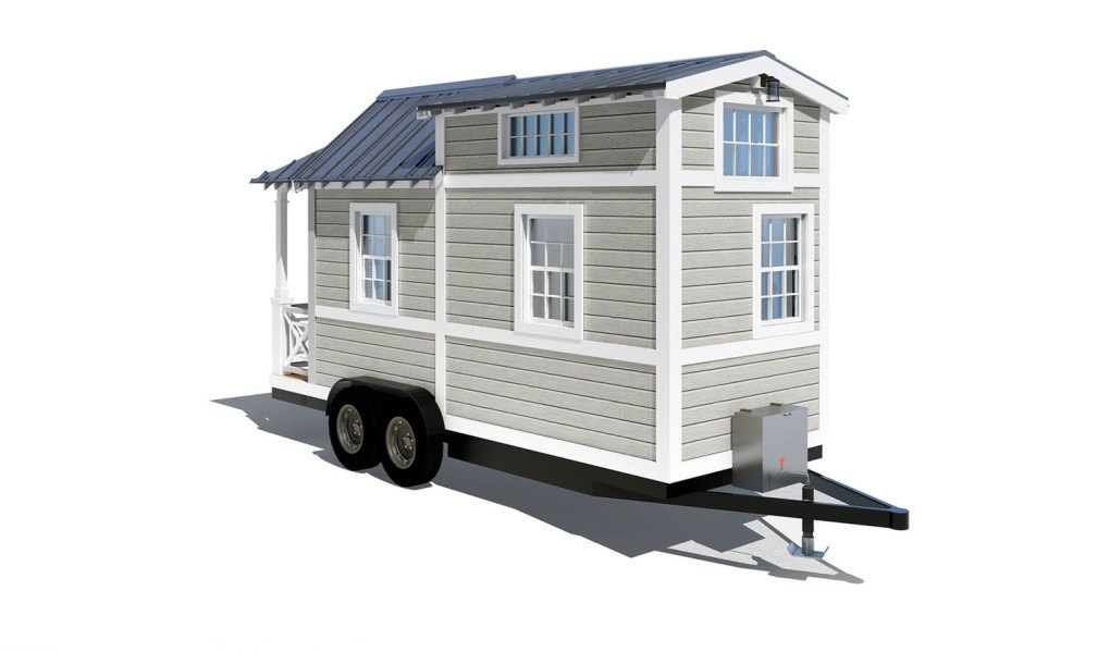 Tiny House Plans Do It Yourself: 84 Lumber Launches Gorgeous Tiny Homes That You Can Buy Or