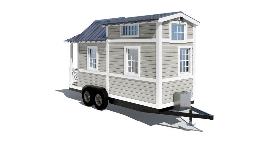 Tiny living by 84 lumber inhabitat green design for Small homes you can build yourself