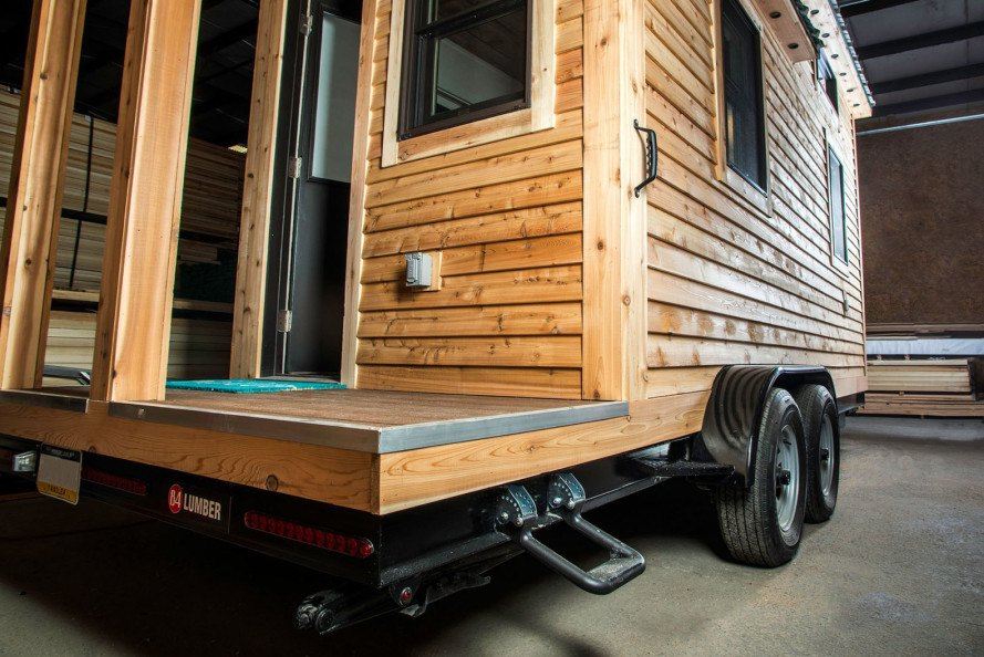 84 Lumber, Tiny Living, Tiny Living tiny houses, tiny homes, homes on wheels, portable tiny homes, DIY tiny home package, DIY small homes, mobile homes