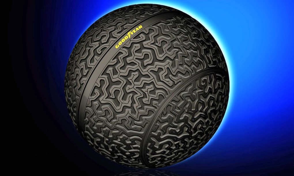 Goodyear S Crazy New Spherical Tires Prove Moving Sideways