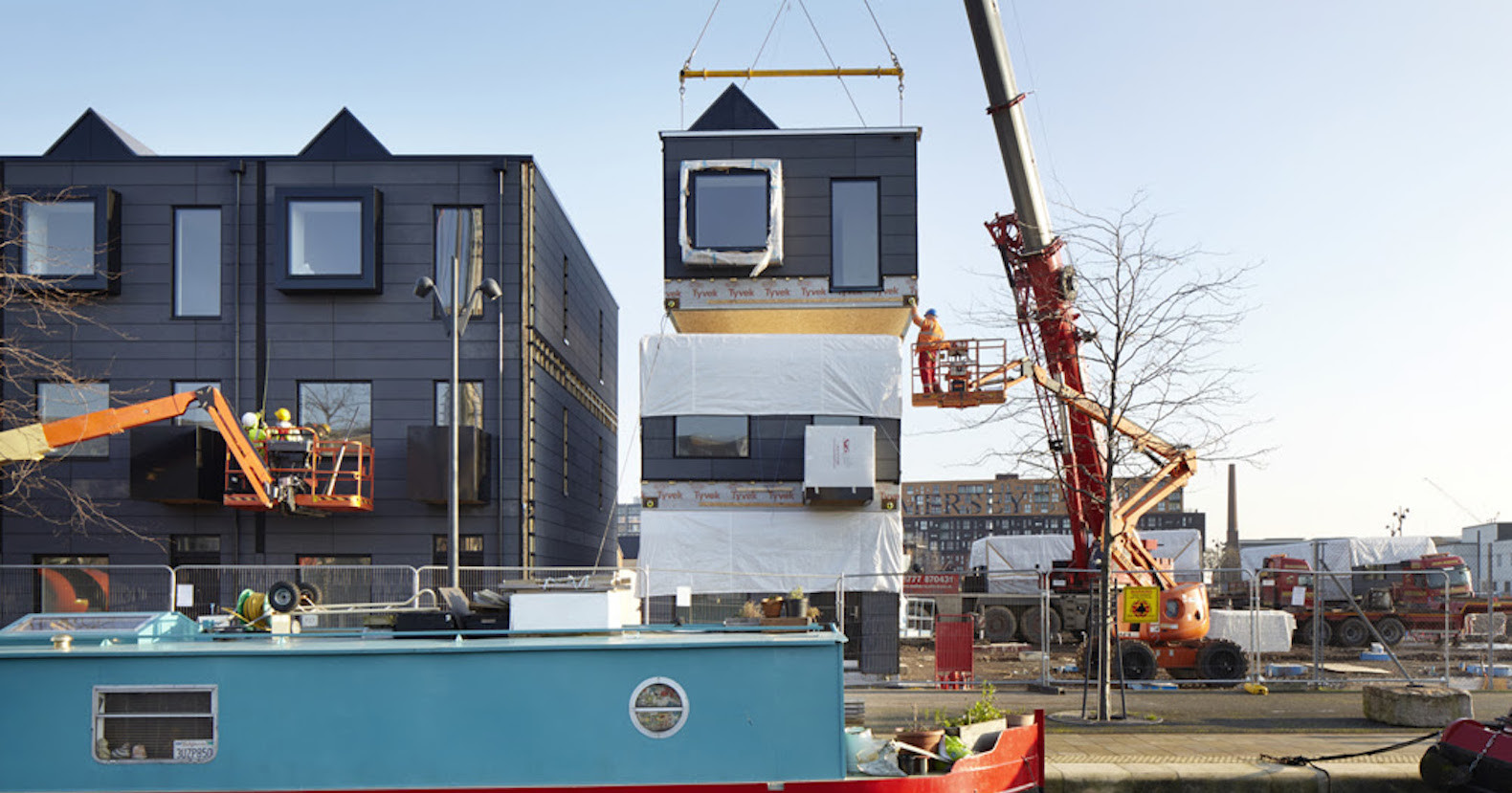 Stackable Prefab Homes In London Let You Design The Interior Before Moving  In