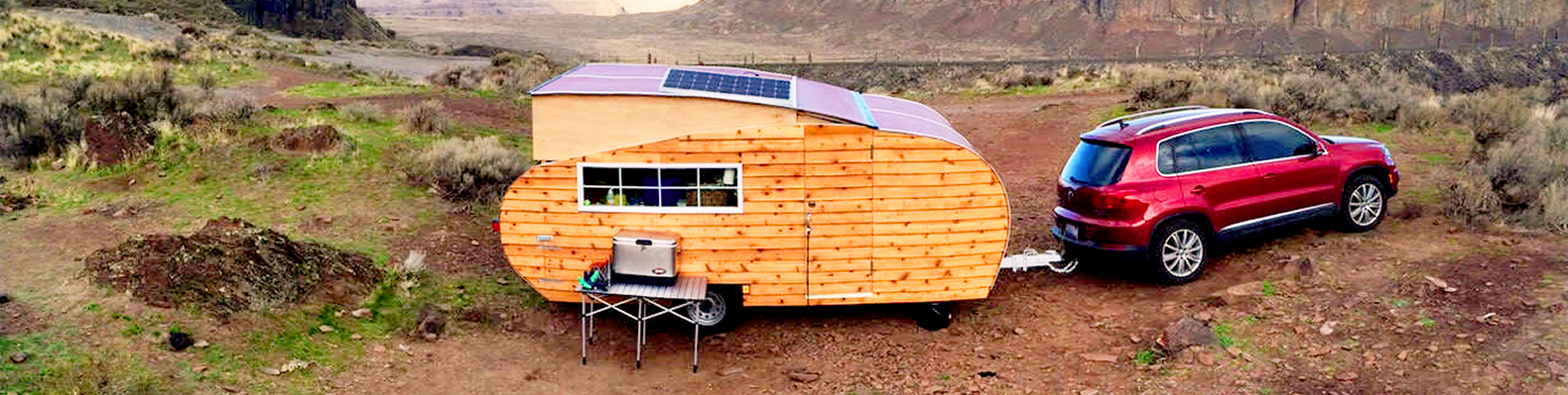 Charming Wood Teardrop Trailer Is Perfect For Off Grid Eco Adventures