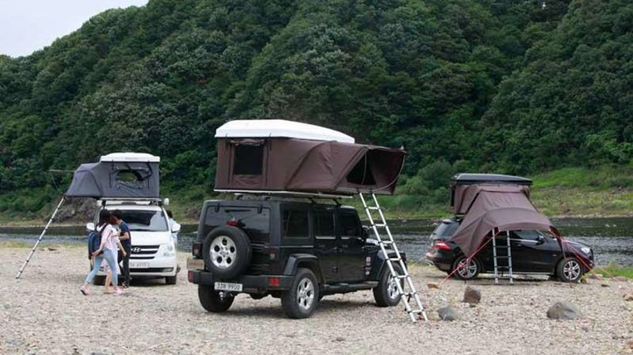 Ikamper S Hardtop One Is Like A Pop Up Trailer For Your