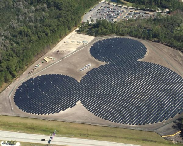 Mickey mouse solar farm, Orlando, walt Disney resort, solar farm, Disney, Epcot, reader submitted content, solar panels, solar power, photovoltaics