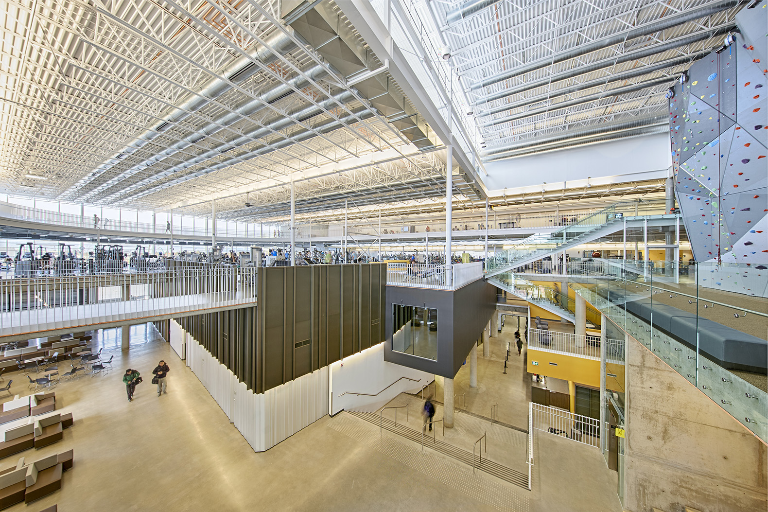 Active Living Centre University Of Manitoba By Cibinel
