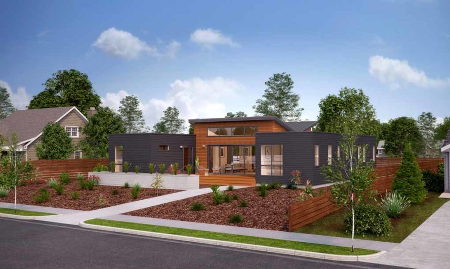 "Blu Homes' net zero energy prefab ""Breeze Mini"" house"