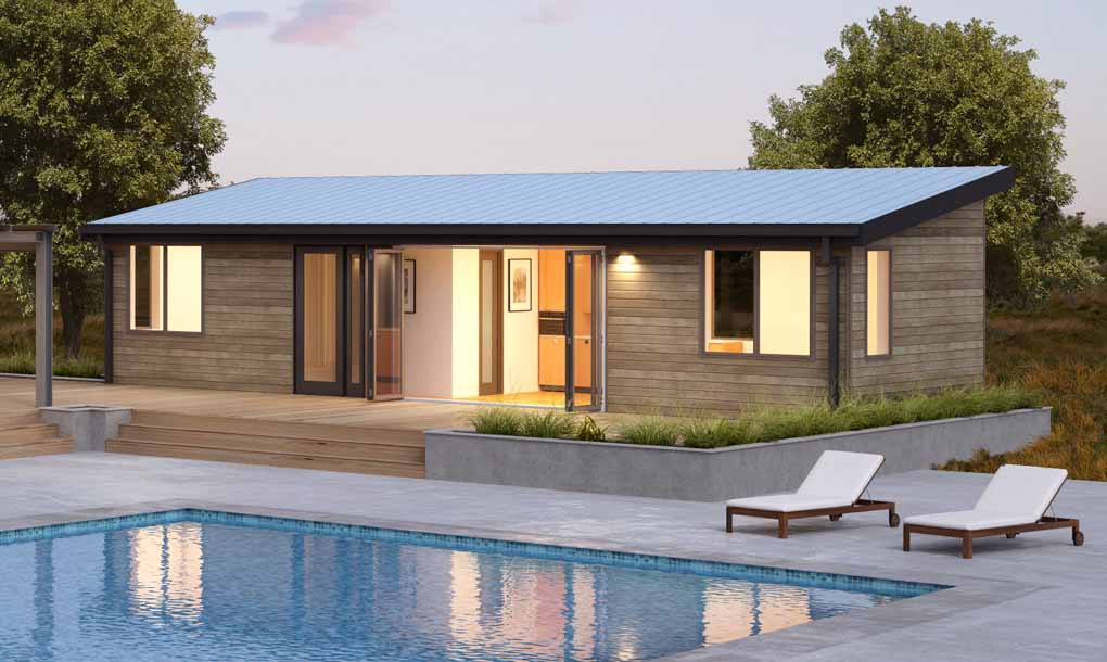 Blu homes launches 16 new prefab home designs including for Small house plans cheap to build