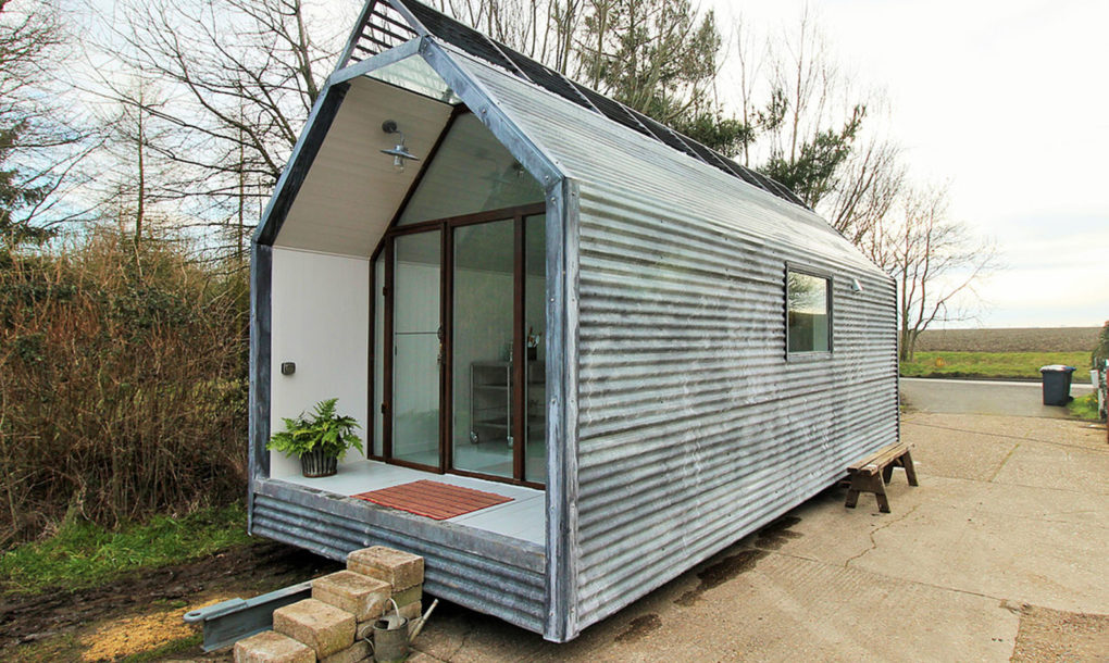 These amazing affordable modern shepherd huts can be moved