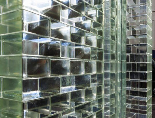Glass Bricks Stronger Than Concrete Clad Amsterdam 39 S