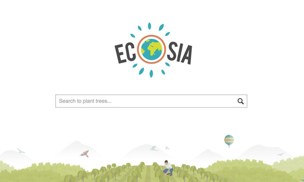 Ecosia is a search engine that plants trees every time you ...