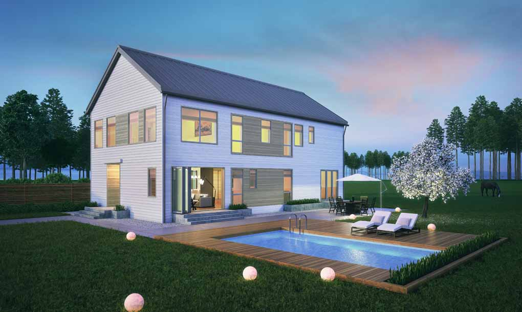 new design homes. Blu Homes  Green Prefab Farmhouse Plus House Launches 16 New Home Designs Including Tiny