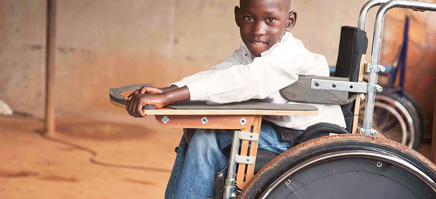 Google.org Donations Motivation Wheelchairs