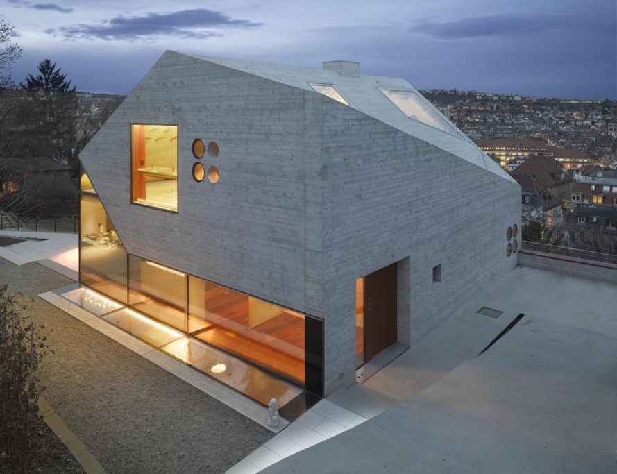 MBA/S Matthias Bauer Associates, Haus 39 by MBA/S Matthias Bauer Associates, glass and concrete architecture, minimalist architecture,