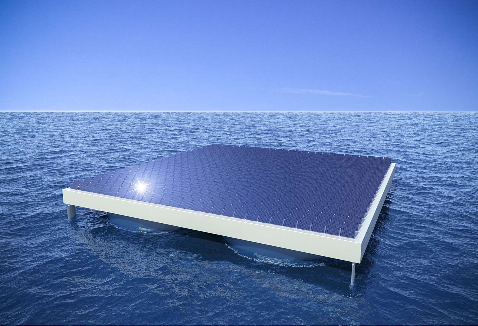Heliofloat Tech Could Keep Solar Panels Afloat On The