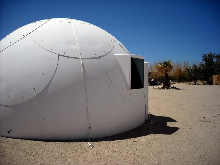 Hawaii, homeless, homelessness, InterShelter, InterShelter dome, dome shelter, fight homelessness, church, faith community, First Assembly of God, igloos, desert