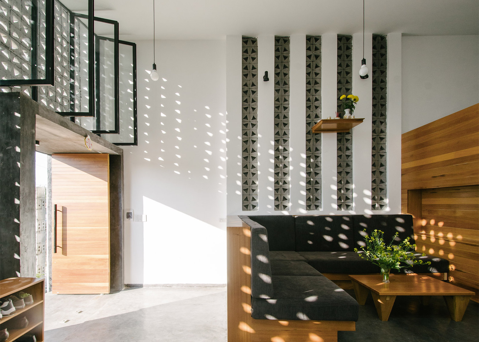Thong House In Vietnam Redefines The Traditional Townhouse