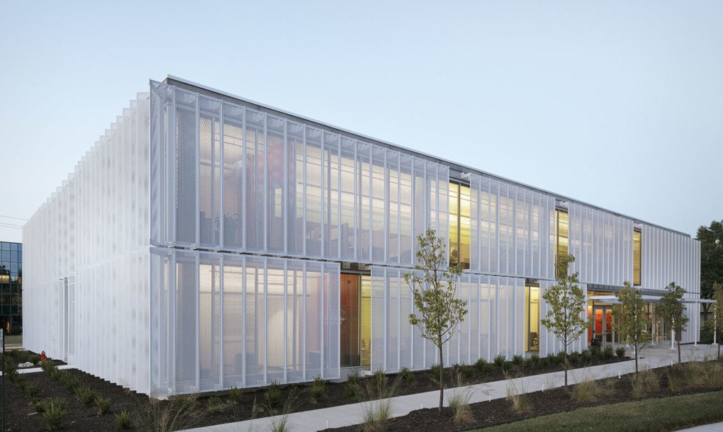 Leawood Speculative Office Perforated Metal Screens