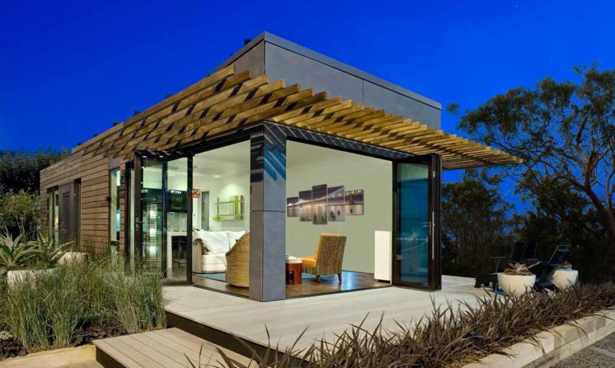 "Blu Homes' net zero energy prefab ""Lotus"" tiny home"