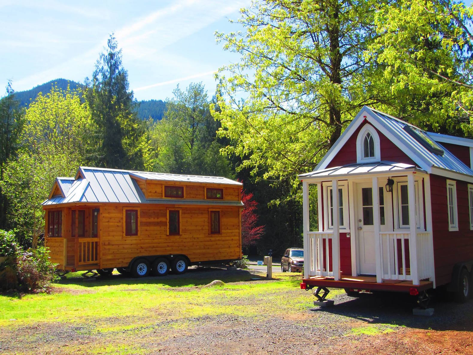 Try out tiny house living in oregon s new micro home for Building a house in portland oregon