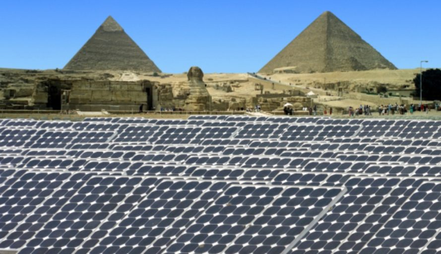 egypt, solar power, solar power plant, egypt solar farm, terra sola, renewable energy, grid power, africa, clean energy