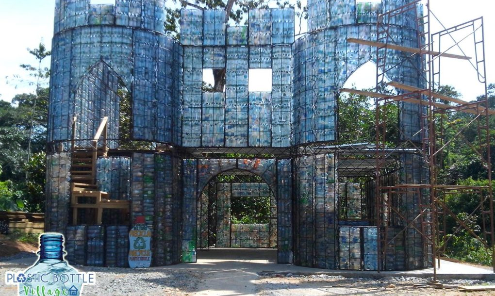 World S First Plastic Bottle Village In Panama To Recycle