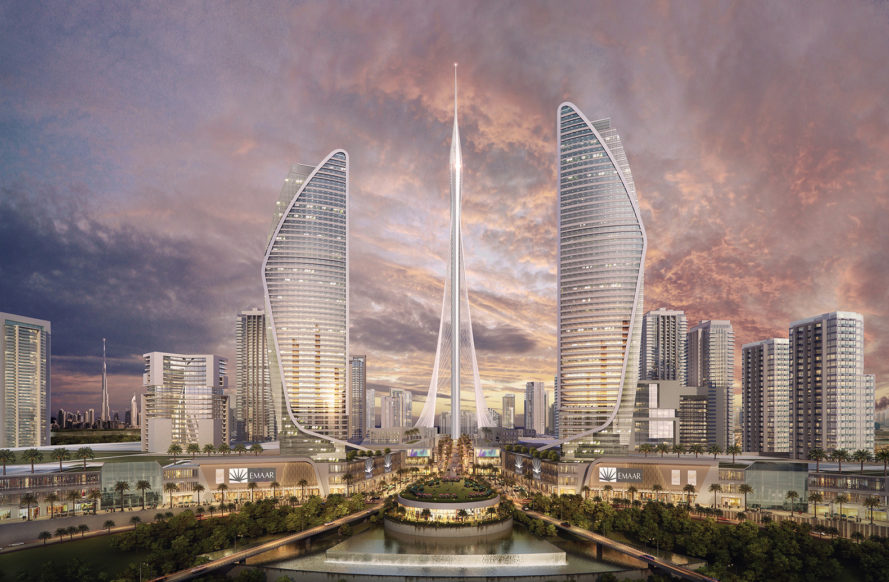 Santiago Calatrava, Emaar Properties, Dubai, Dubai observation tower, Dubai Creek Harbor tower, sustainable architecture, architecture