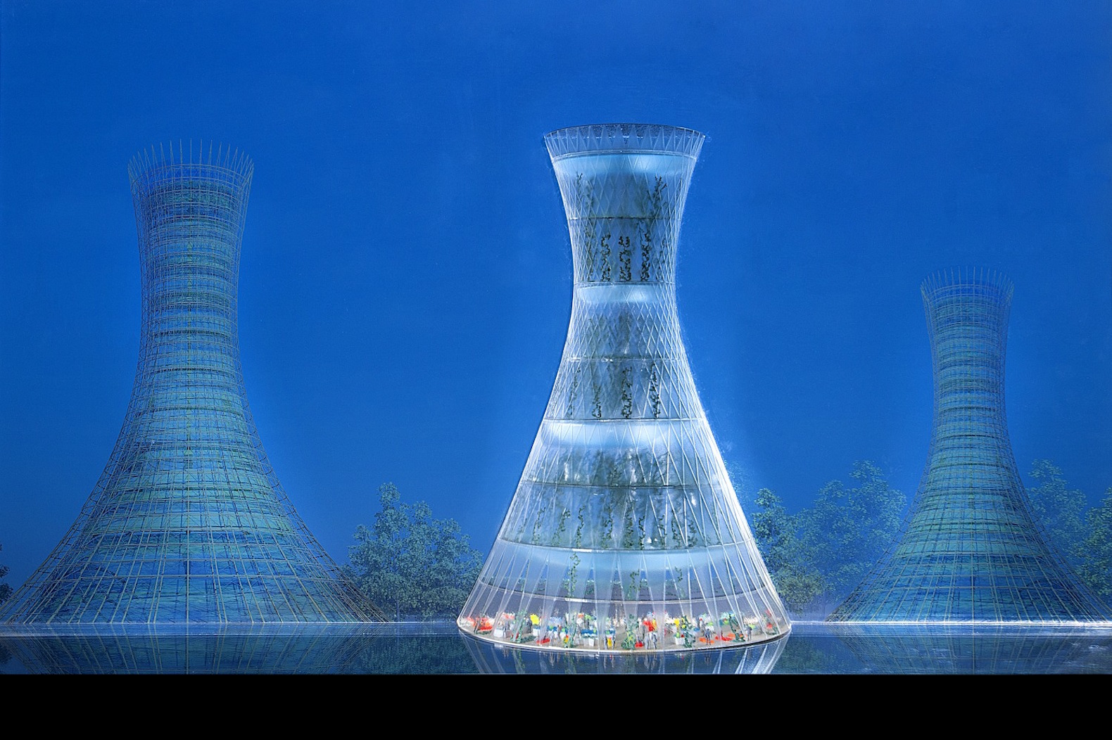 Wind-powered vertical Skyfarms are the future of sustainable agriculture