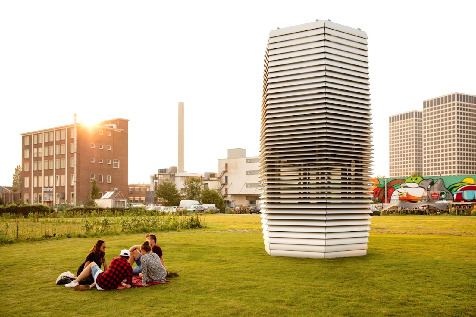 6 Brilliant Smog Eating Designs Ridding Cities Of Air