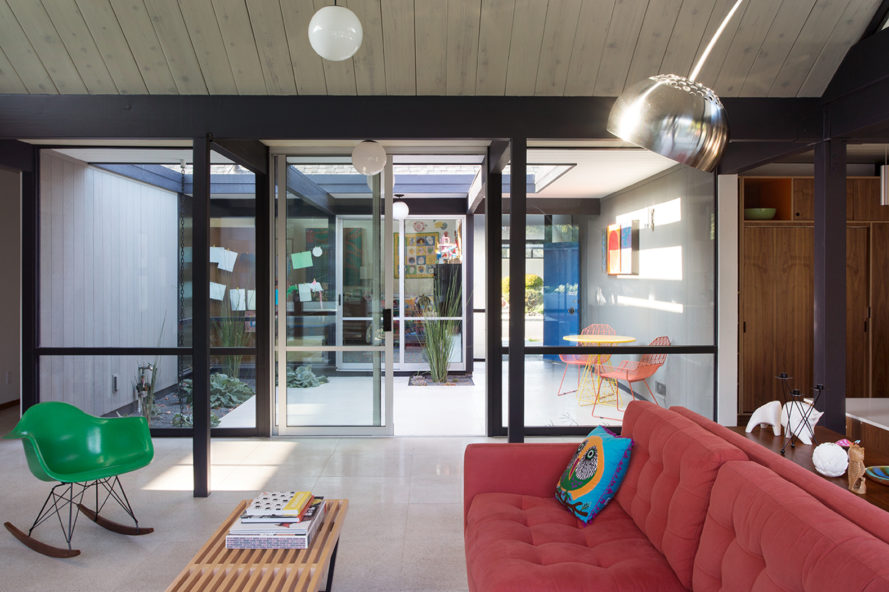 eichler, eichler house, klopf architecture, flegel's construction, grows green, mid-century home, home remodel, green house, green home