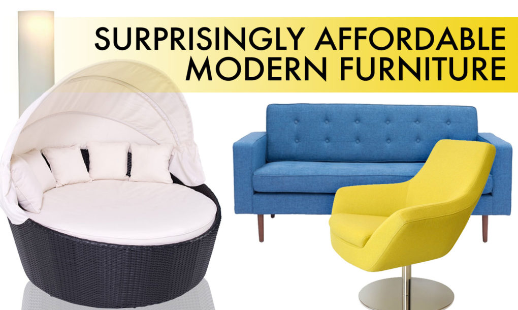 Inexpensive modern sofa gorgeous affordable modern for Inexpensive stylish furniture