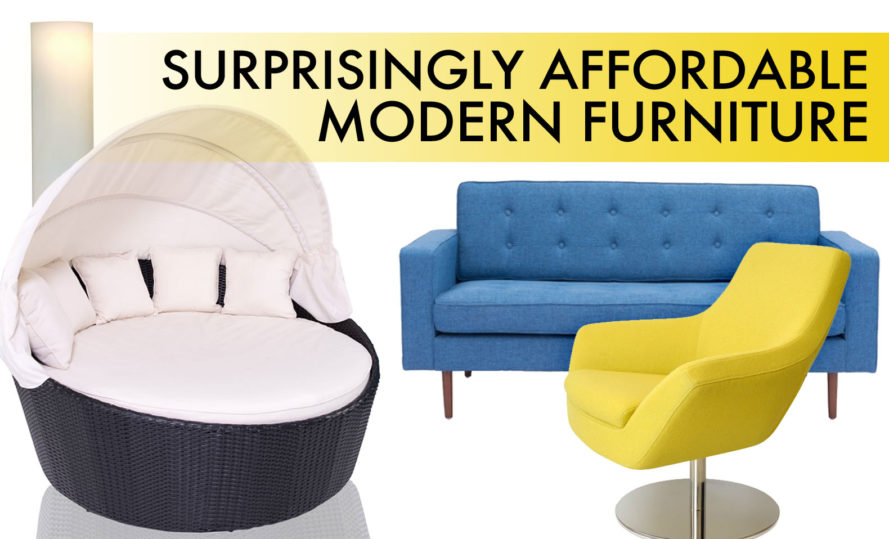 14 Surprisingly Affordable Pieces Of Modern Furniture That Won T Break The Bank